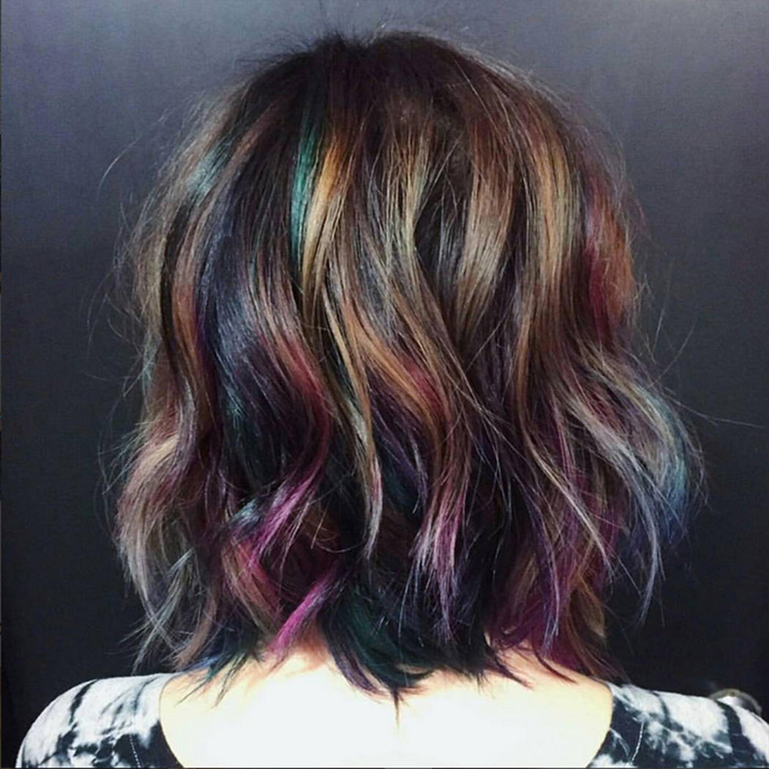 How To Create Oil Slick Hair Tricoci University Of Beauty Culture